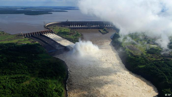 Itaipu Staudamm in Brasilien (AP)
