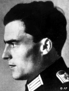 FILE - In this undated file picture, Col. Claus Graf Schenk von Stauffenberg, the aristocratic officer executed for trying to assassinate Adolf Hitler on July 20, 1944 is shown. German leaders on Monday July 20, 2009 will honor the plotters of the celebrated army attempt to assassinate Adolf Hitler, 65 years after they were executed. In ceremonies marking the 65th anniversary of the coup attempt, officials will lay wreaths at the Bendlerblock building, now the Defense Ministry, where Stauffenberg and three others were executed shortly after their plan to kill Hitler with a briefcase bomb failed. (ddp images/AP Photo, File)