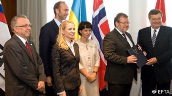 Підписання угоди про вільну торгівлю 24 червня 2010 року в Рейк'явіку