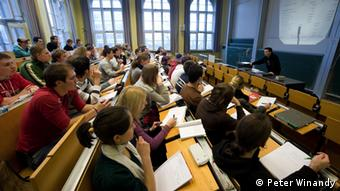 Ein Hörsaal im Hauptgebäude der RWTH Aachen Copyright: Peter Winandy,