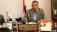 الطب الرياضي التابع لوزارة الشباب والرياضة الدكتور حيدر رحيم وهاب