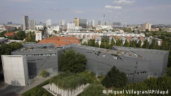 An ariel view of the Jewish museum in Berlin. (Photo: ddp images/AP Photo/Miguel Villagran)