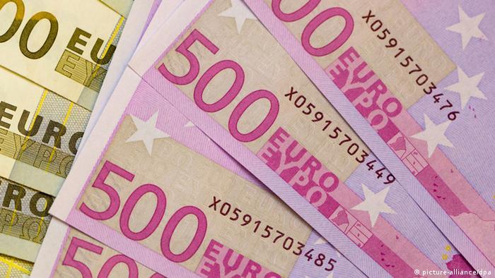 Euroscheine Seriennummern