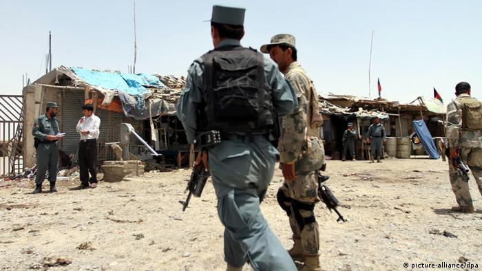 تصویر از آرشیف: نیروهای امنیتی در قندهار
