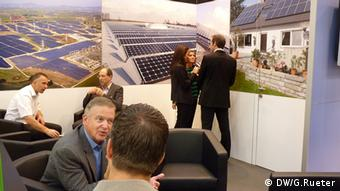 Stand at the Intersolar trade fair in Munich