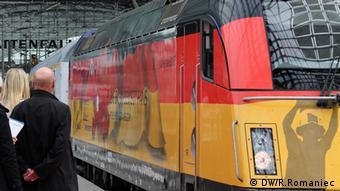 Einfahrt des Zuges Danzig Berlin am Hauptbahnhof. Neue Bahnverbindung Danzig Berlin - Ministertreffen in Berlin Ort: Berlin Zeit: 6.6.2012 Foto: DW/Rosalia Romaniec