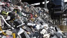 Elektroschrott Recycling - Müllberg
