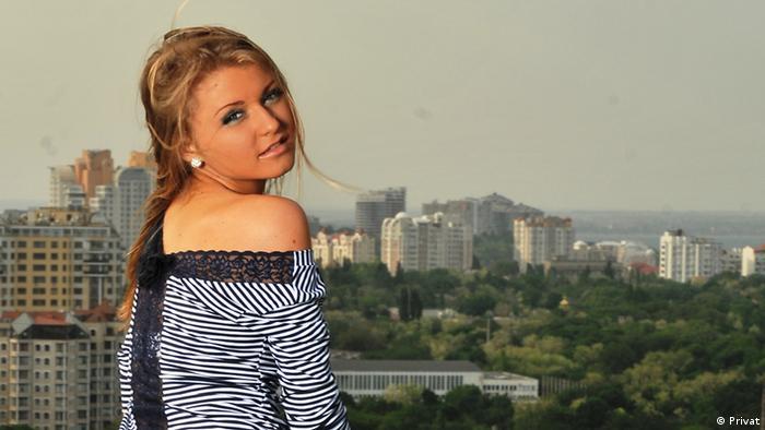 Deutschlernerin Olga aus der Ukraine