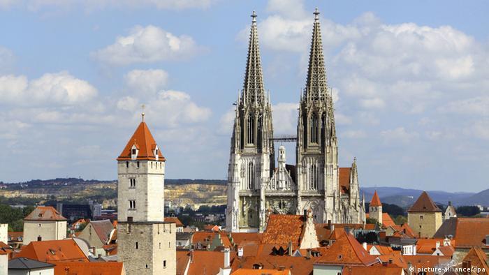 Родовые башни и башни Регенсбургского собора