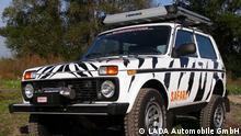 Titel: Lada 4x4 Beschreibung: Der Lada 4x4 (auch Lada Niva, Lada 2121 bzw. WAS-2121) ist ein vom russischen Autohersteller AwtoWAS produzierter Geländewagen. LADA Automobile GmbH importiert Lada 4x4 nach Deutschland.