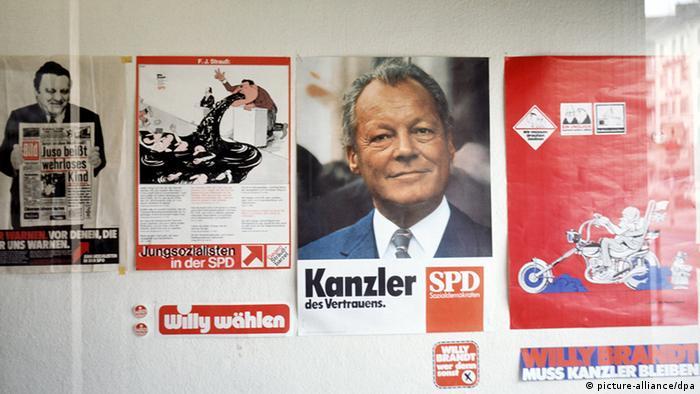Bildergalerie 60 Jahre Bild Wahlkampf und Bild 1972