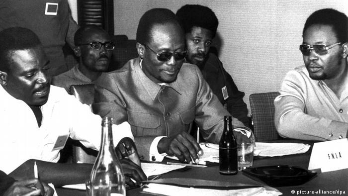 Combatentes da FNLA em 1969
