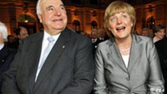 Kohl i Angela Merkel