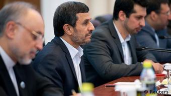 محمود احمدینژاد، رئیسجمهوری اسلامی ایران در نشست سازمان شانگهای در پکن