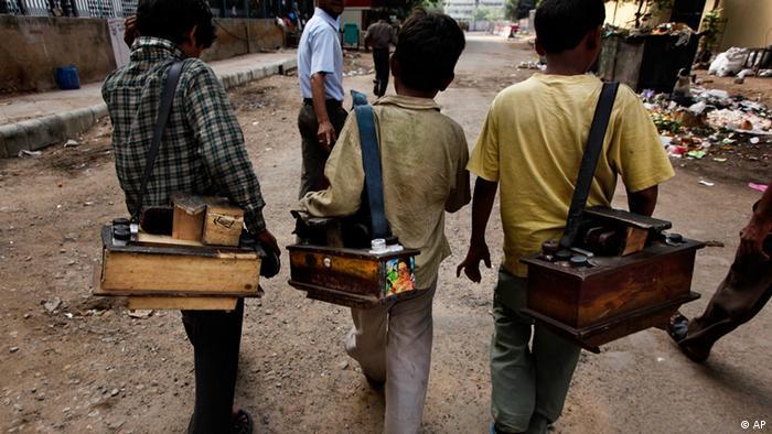 Bildergalerie Kinderarbeit - global Indien