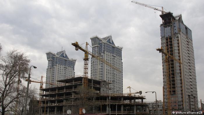 Будівництво київських висоток