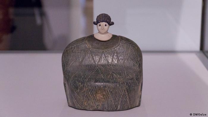 Skulptur Foto: DW/Sabine Oelze.