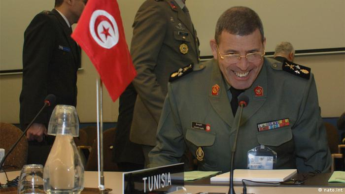 Meeting of the Military Committee Mediterranean Dialogue Countries with MC 16 November 2006 Der tunesischer Armeechef , General Rashid Ammar. Général de Division Rachid Ammar (Chief of the Army, Tunisia) Quelle: http://www.nato.int