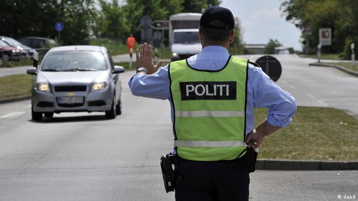 Symbolbild Grenzkontrolle EU