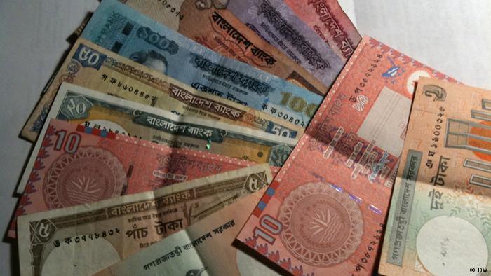 Bengalische Banknoten