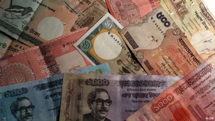Bengalische Banknoten (DW)