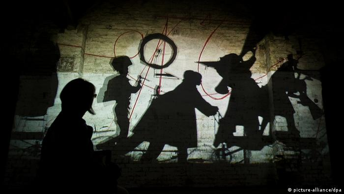 Eine Video-Installation von William Kentridge auf der documenta 13 (picture-alliance/dpa)