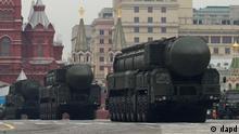 Russland Topol-M Rakete