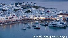 Mykonos Town, Chora, Mykonos, Cyclades, Greek Islands, Greece, Europe picture alliance / Sergio Pitamitz/Robert Harding Notiz zur Verwendung picture alliance/Robert Harding World Imagery
