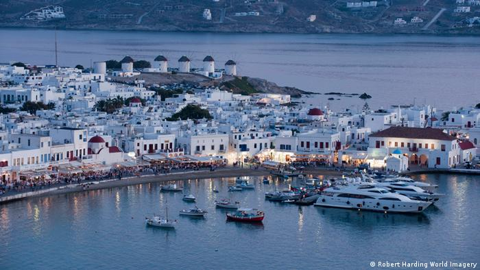 Greek holiday resort of Mykonos Picture alliance/Robert Harding World Imagery