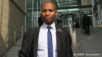 Tanaka Brian Mukura é um bolsista do banco alemão Commerzbank: classe média africana tem mais auto-estima e é motor da economia