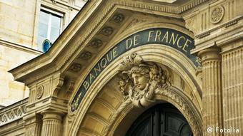 Façade de la Banque de France à Paris (Fotolia)