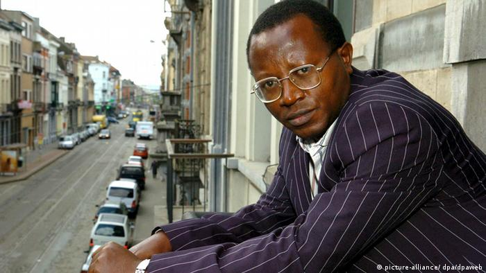 Congolese Floribert Chebeya, Chairman of the political party 'Voices without voice' and main opponent of Congo's President Joseph Kabila, in visit in Brussels on Thursday 07 April 2005. EPA/ETIENNE ANSOTTE +++(c) dpa - Report+++