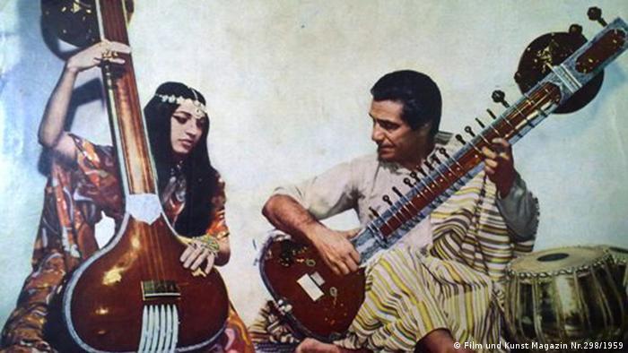 Der im Jahre 1992 verstorbene iranische Musiker, Abbas Mehrpoua, war ein Avangarde-Künstler in der persischen Musikszene; Copyright: Film und Kunst Magazin Nr.298/1959