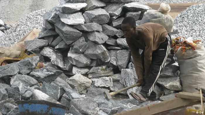Kinderarbeit in Goldminen in Burkina Faso