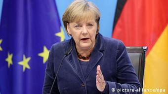Angela Merkel wants Europe to be a political union