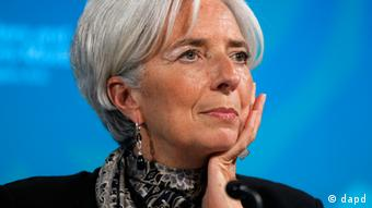Christine Lagarde, Washington, Friday, April 20, 2012. (Foto:Charles Dharapak/AP/dapd)