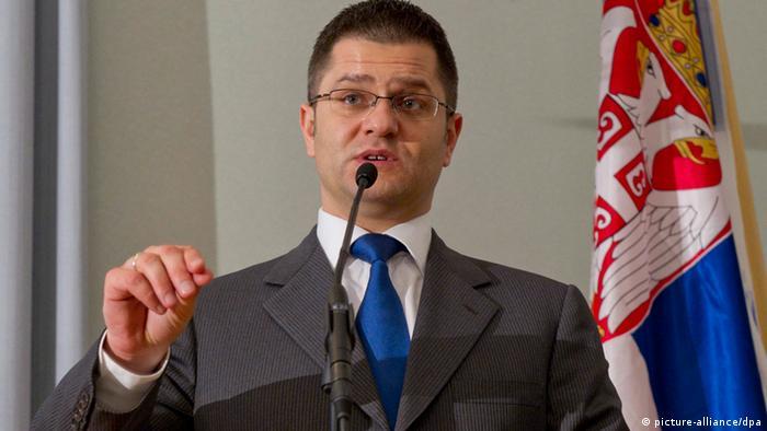 Vuk Jeremic, Aussenminister Serbien