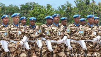 Symbolbild UN Soldaten Elfenbeinküste