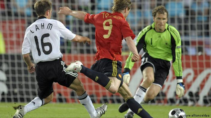 EM 2008 Deutschland vs Spanien (picture-alliance/dpa)