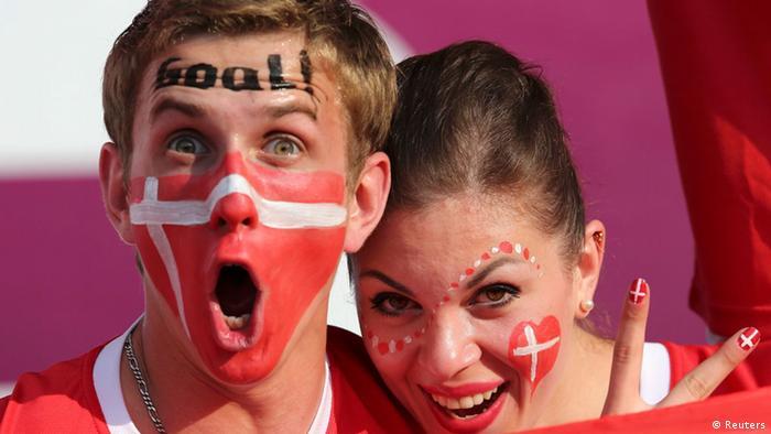 Euro 2012 Bildergalerie Fans im EM-Fieber (Reuters)