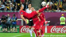 Fussball Deutschland Portugal UEFA EURO 2012