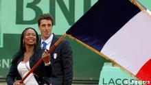 Laura Flessel Frankreich Roland Garros Fench Open