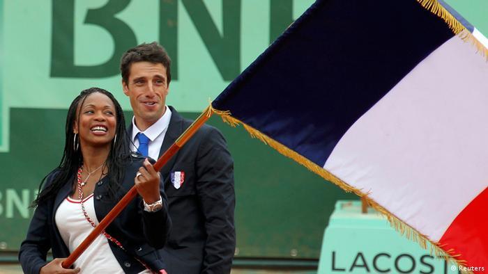 Laura Flessel Frankreich Roland Garros Fench Open (Reuters)