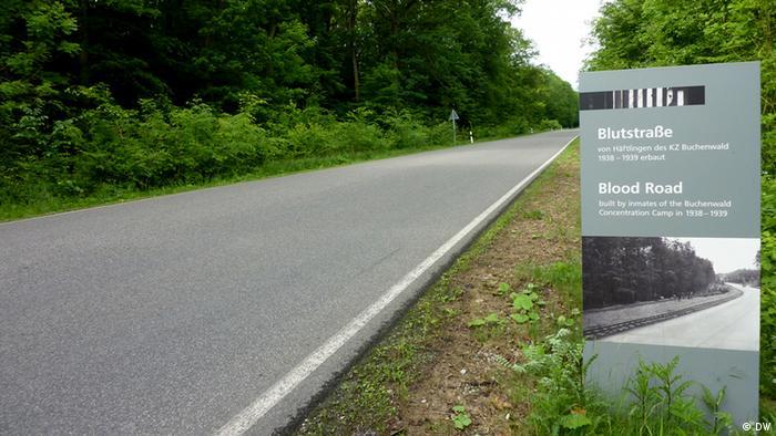 Die Blutstraße, von Häftlingen gebaut. Copyright: DW/Cornelia Rabitz 07.06.2012