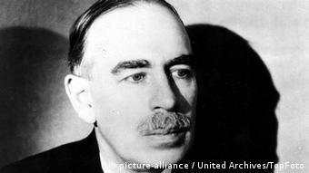 Inglês John Maynard Keynes foi um dos arquitetos da ordem econômica mundial do pós-guerra