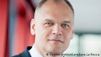 Goethe-Institut's Secretary-General Johannes Ebert