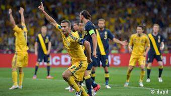 Fussball Schweden Ukraine UEFA EURO 2012