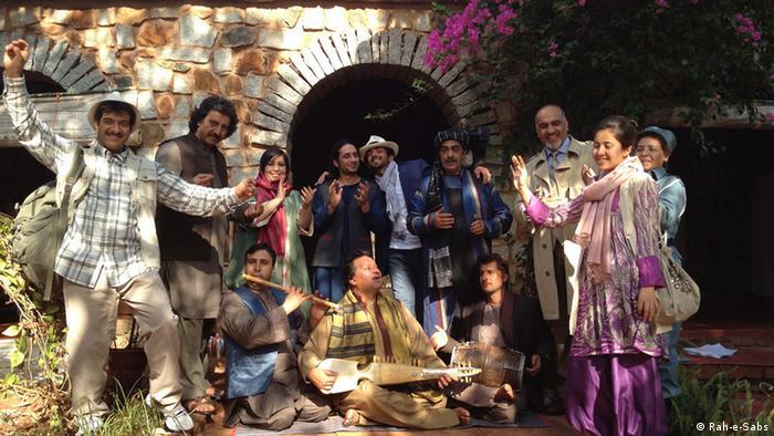 Ensemble plus Band, Shakespeare Afghanistan Rah-e-Sabs  Aufnahmedatum: 2012  Aufnahmeort: Indien  Copyright: Rah-e-Sabs