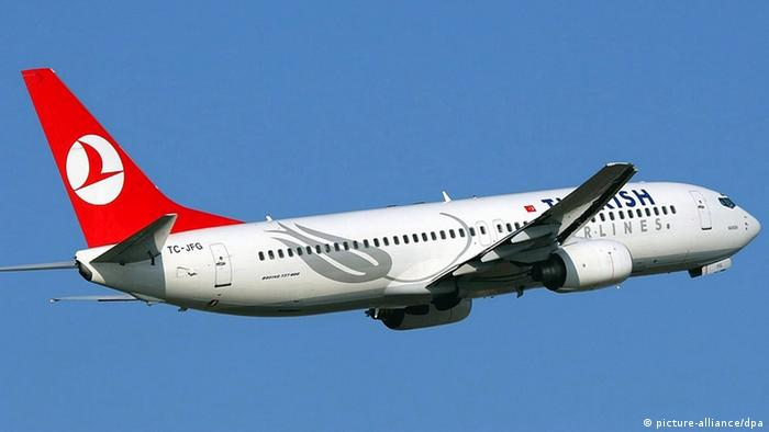 Boeing 737 der Turkish Airlines