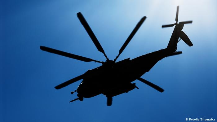 helicopter in training, Foto: Fotolia/Silverpics, 6510583